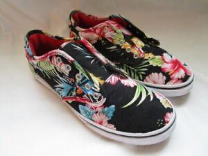 VANS Hawaiian Floral Skate Shoes