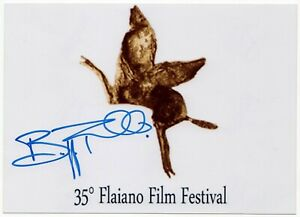 Autografo-di-Beppe-Fiorello-Italian-Actor-Signed-Photo-Foto-Autografata-Cinema