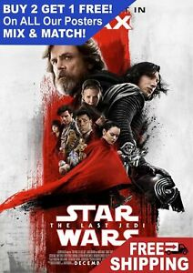 Star-Wars-The-Last-Jedi-Imax-Movie-Giant-Poster-A5-A4-A3-A2-A1-HUGE-Sizes