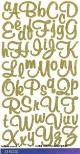 Détails Sur Sticko Loisirs Créatifs Scrapbooking Stickers Paillettes Doré Peinture Murale