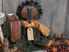PATTERN Primitive Raggedy Ann Doll Sunflower Ornie UNCUT Threadbare Primitives
