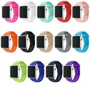 Apple Watch Sport Armband Series 5/4/3/2/1 Silikon Band 42mm/44mm Ersatz Loop
