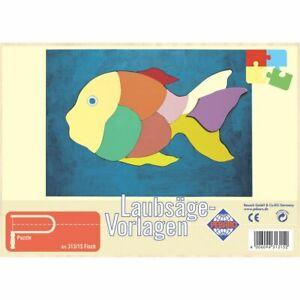 PEBARO-Laubsaegevorlage-Fisch-Puzzle