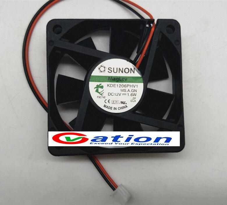 Sunon fan KDE1206PHV1 DC 12V 1.6W 2 Wire