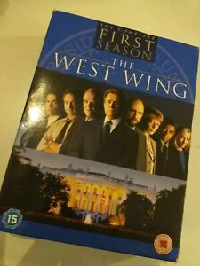 Dvd-lote-lot-THE-WEST-WING-first-1season-sealed-in-English-falta-1cd-5-cds