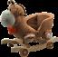 Kids Childrens Animal Rocker Rocking Toddler Infant Baby Toy Gift Roller Seat