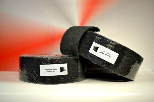 2 Rollen Schleifvlies Super Fein Grau S800 100mm X 10m Pad Schleif-netz