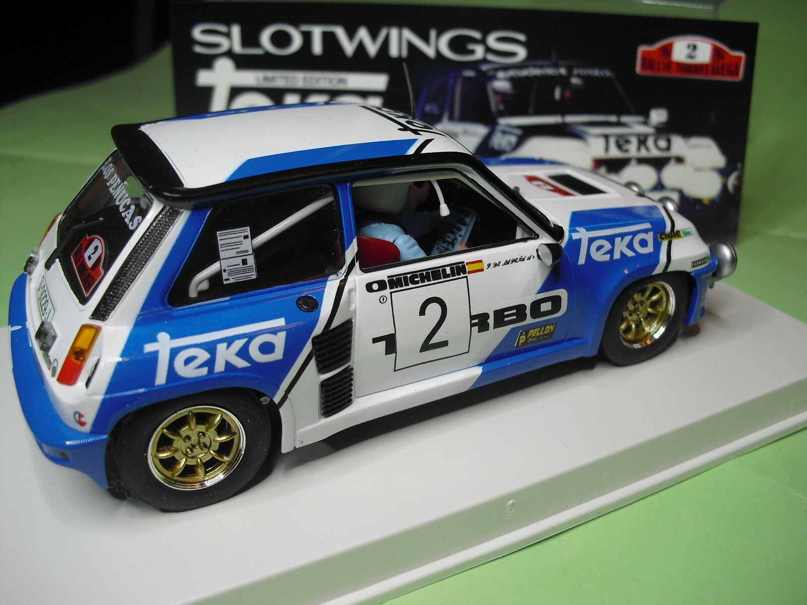 SLOTWINGS W037-1SP RENAULT 5 TURBO 1983 SOLO 100 UNDIDADES