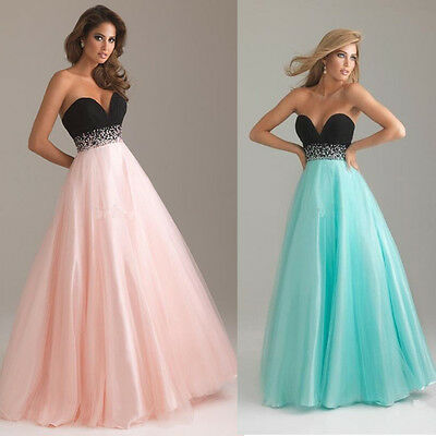 Women Chiffon Cocktail Evening Party Prom Gown Bridesmaid Formal Dress Long Maxi