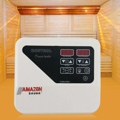 Neu 3-9KW Sauna External Controller Saunasteuergerät Saunasteuerung 380-415V DHL