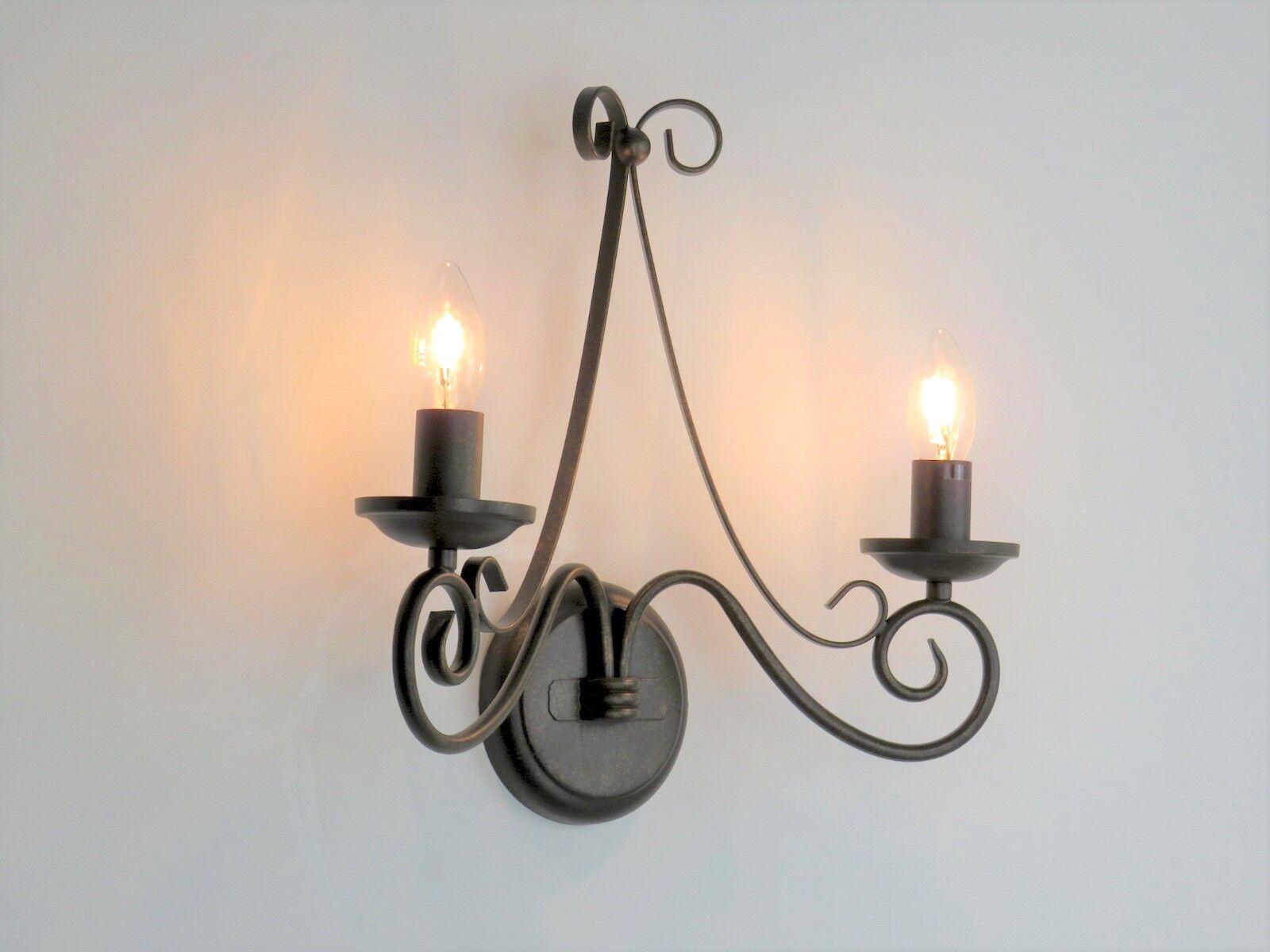 Lampada da parete applique classico classico classico rustico
