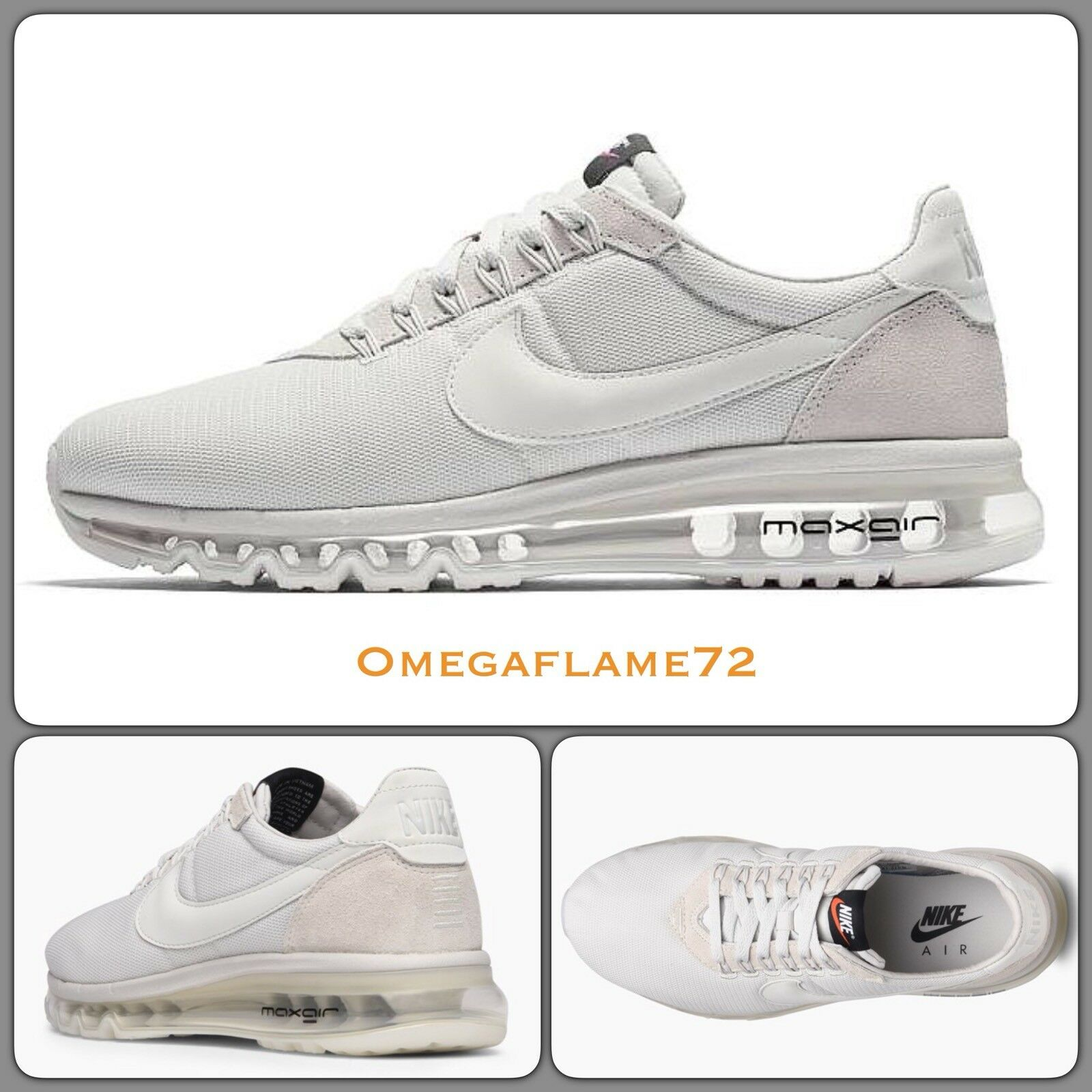 Nike Air Max LD ZERO, Bone Platinum , 848624-008 UK 10, EU 45, US 11