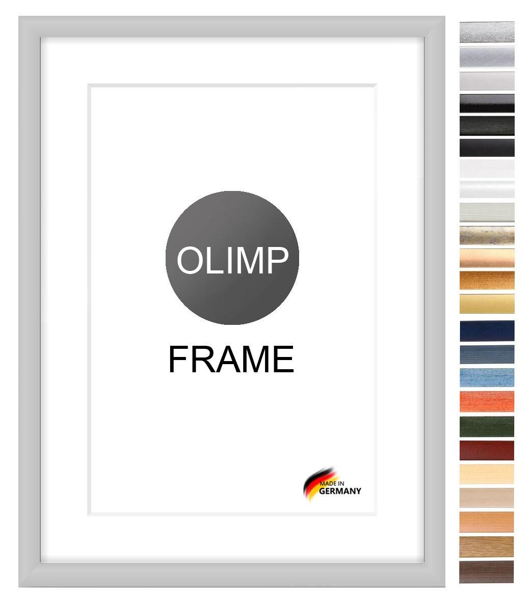 Bilderrahmen Antireflex 22 Farben ab 65x80 bis 65x90 cm Foto Poster Rahmen Neu