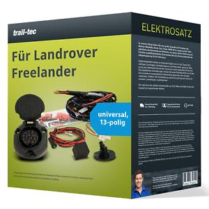 Für Landrover Freelander E-Satz 13-pol universell NEU trail-tec