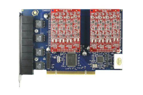 Asterisk card TDM800P with 8 FXO card  asterisk,trixbox,Briker,Askozia