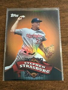 2010-Topps-Chrome-Baseball-Target-Exclusive-Stephen-Strasburg-Nationals