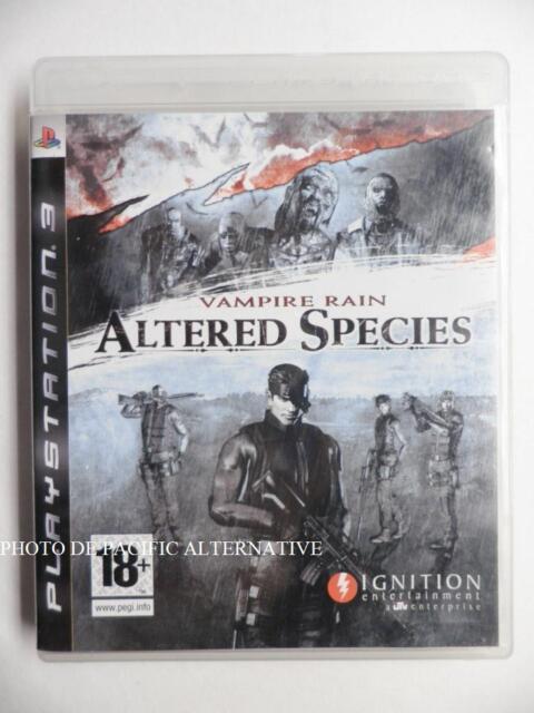 jeu VAMPIRE RAIN ALTERED SPECIES sur PS3 playstation 3 en francais game spiel