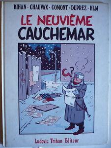 LE-NEUVIEME-CAUCHEMAR-ed-Trihan-1983-couv-style-CHALAND-album-collectif