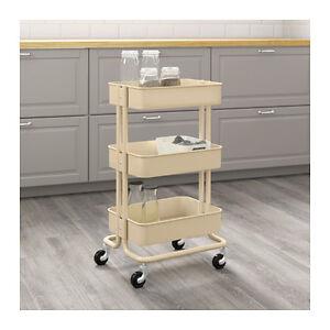 Image Is Loading New IKEA Raskog Home Kitchen Bedroom Storage Steel