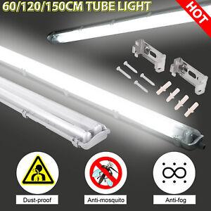 120 LED Feuchtraumleuchte T8 Wannenleuchte   60 150 cm Keller  LED Röhre