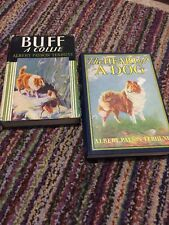 DOG Books By Albert Payson TERHUNE BUFF A Collie 1921 The Heart Of A Dog 1924 HC