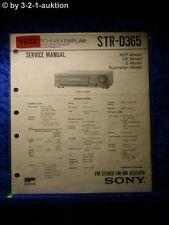 Sony Service Manual STR D365 Receiver  (#1932)