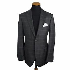 Recent Hugo Boss Pasini Mens Blazer size 40R Wool Jacket Plaid Check Coat gr. 50