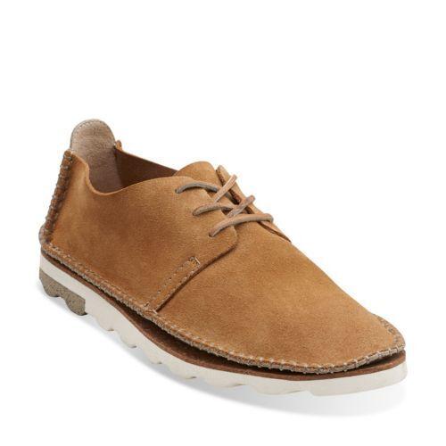 Clarks Herren ** Dakin Walk Schuhe ** cognac Wildleder ** UK 9.510 G