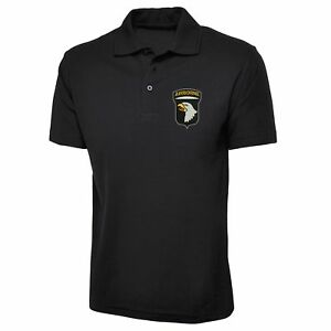 101st-Airborne-Division-Polo-Shirt-USA-Army-Inspired-Embroidered-Polo-Top
