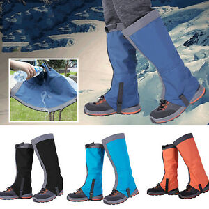 Adult-1-Pair-Breathable-Outdoor-Hiking-Climbing-Snow-Legging-Gaiters-Waterproof