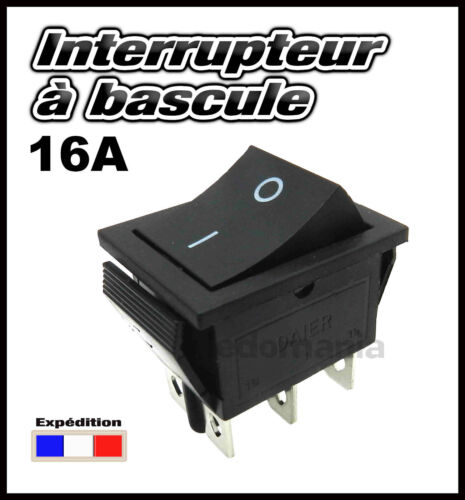 996F# interrupteur à bascule 16A 2 RT 2 positions ON-OFF de 1 à 10 pcs