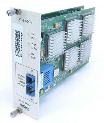 Clothing, Shoes & Accessories Genteel Spirent Netcom Systems At-9155cs Module Finely Processed Collectibles