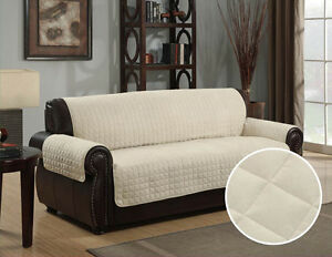 Image Is Loading QUILTED MICRO SUEDE PET DOG COUCH SOFA FURNITURE