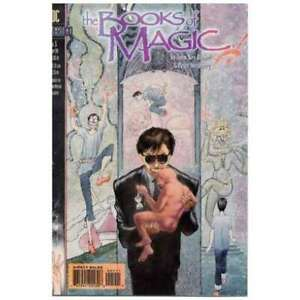 Books of Magic (1994 series) #5 in Near Mint + condition. DC comics [*p9]
