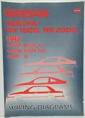 1993 Nissan Stanza Altima 4-Door Sedan XE-S Electrical Wiring Diagram on ferrari 308 gts, ferrari 308 qv wiring,