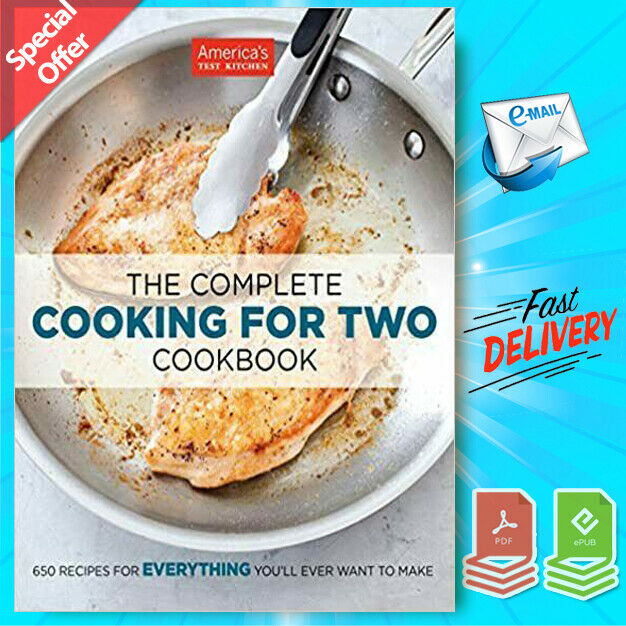 The Total Cooking For Two Cookbook By The US's Take A Look