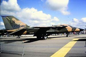 2-66-2-General-Dynamics-F-111F-USAF-LN-492AMU-Kodachrome-Slide