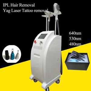 Permanent Hair Removal Q Switch Nd Yag Tattoo Removal Laser Black Doll Machine Ebay