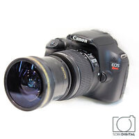 Hd 58mm .x17 Extreme Wide Angle Lens For Canon Eos Rebel 6d 7d 70d 80d 1100d Sl1