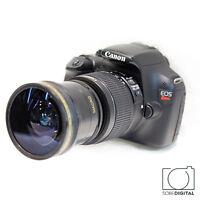 Hd .x14 Fisheye Macro Lens For Canon Eos Rebel 1100d 1200d 1300d T5 T3 650d T6