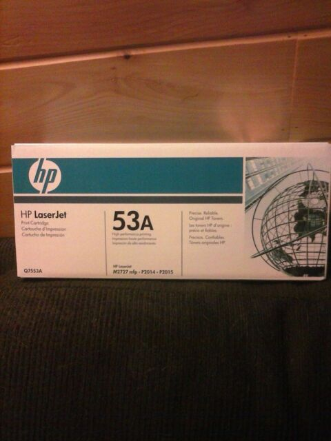 HP Laserjet 53A Q7553A - Black Cartridge Toner