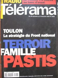 2498-TOULON-ET-FRONT-NATIONAL-PROFESSION-DIRECTEUR-ARTISTIQUE-TELERAMA-1997