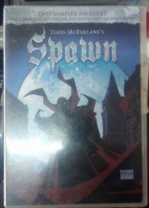 SPAWN - San Diego Comic Con Exclusive PROMO Sampler DVD Todd McFarlane