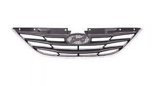 2011 2012 2013 SONATA GLS Upper Grille Replacement on Front Bumper NEW