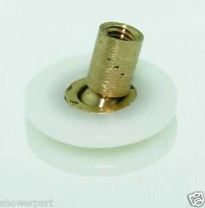 8 X Shower Door Rollers V Grooved Ball Joint Runners