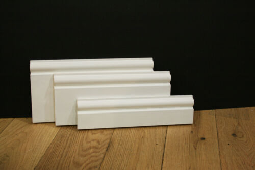 Torus 68x18mm matching plinthe disponibles FREE P/&P Pre-primed mdf d/'architrave