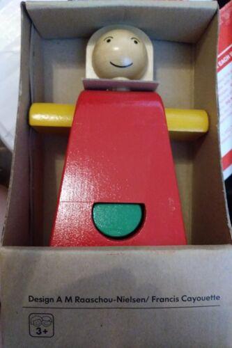 Vintage NIB IKEA MULA Wooden Doll Puzzle
