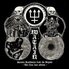 WATAIN - SATANIC DEATHNOISE FROM THE BEYOND (4CD BOX) 4 CD NEU