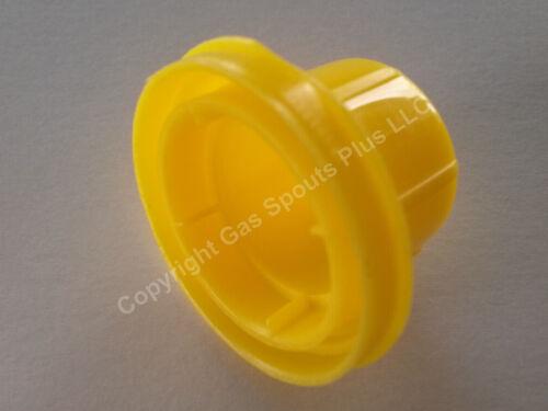 4 YELLOW GAS CAN VENT CAPS 8pcs total NEW Combo Pk 4 BLITZ Yellow Spout Caps