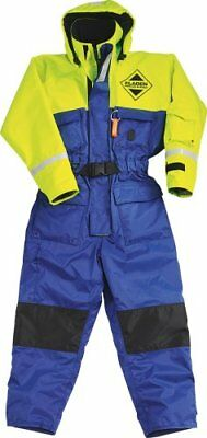 Waterproof  BLUE /& YELLOW XL Extra Large Fladen Flotation Suit Warm
